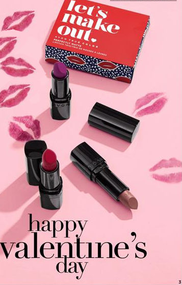 Happy V Day Lipstick and Kisses