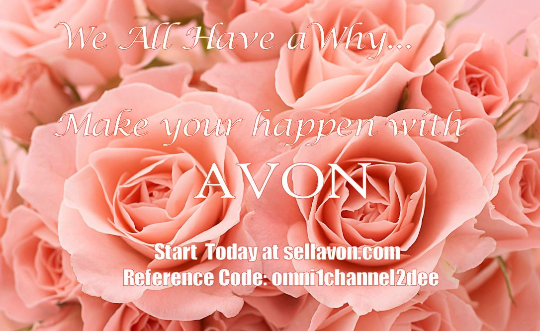 Avon Recruiting Pink Roses_Updated