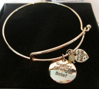Charm Bracelet Military Mom