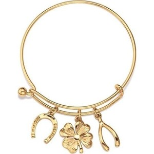 Charm Bracelet Wish Me Luck