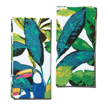 Toucan Fabric Napkins